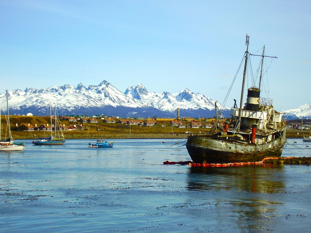 Ushuaia, the 'southern-most city in the world'.