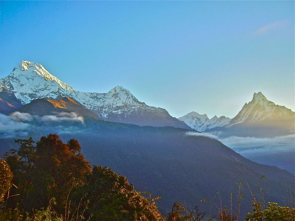 A Himalayan Sunrise