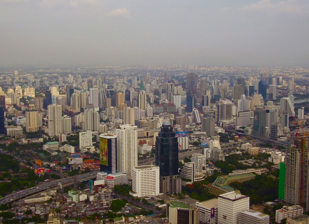 View from the Baiyoke Sky Hotel, Bangkok
