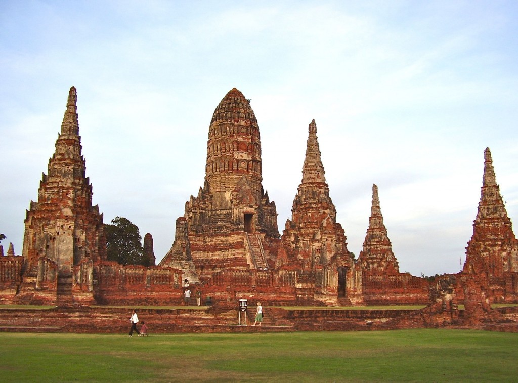 I feel a great sense of peace and inspiration when I visit beautiful temples and other grand monuments.  This is one of the temples we visited at Ayutthaya, Thailand.