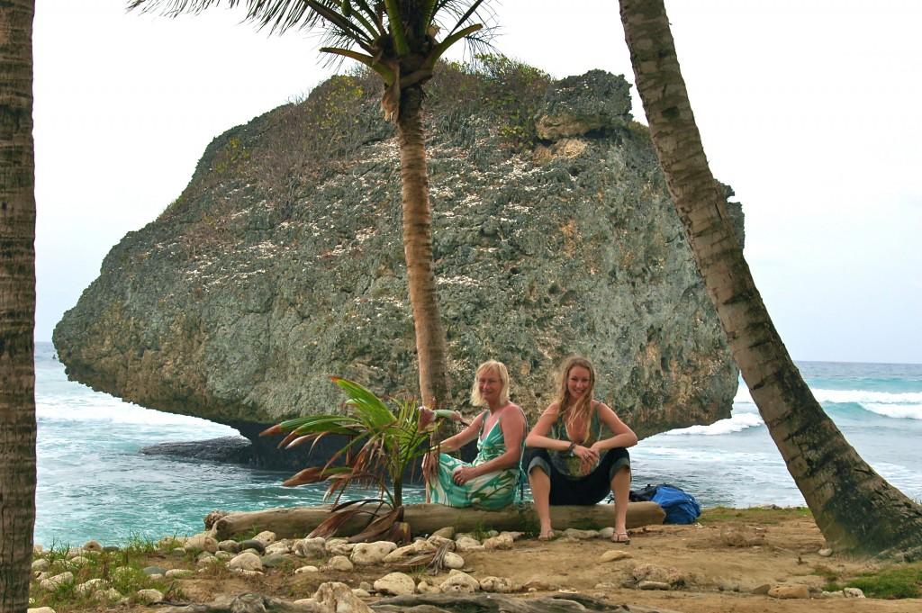 Special memories - Bathsheba beach, Barbados