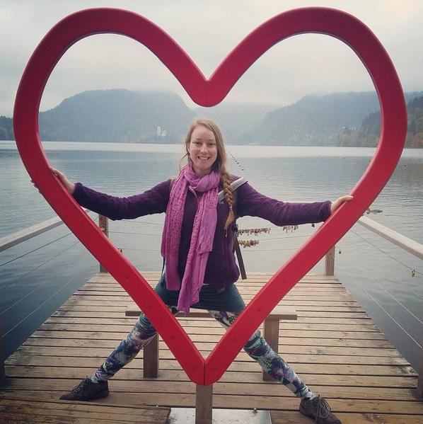 lake bled heart